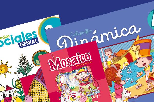 Libros escolares de Primer y Segundo Ciclo
