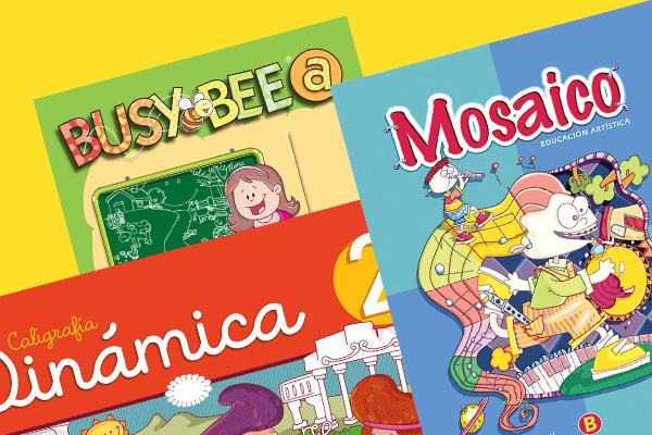 Libros escolares de Parvularia