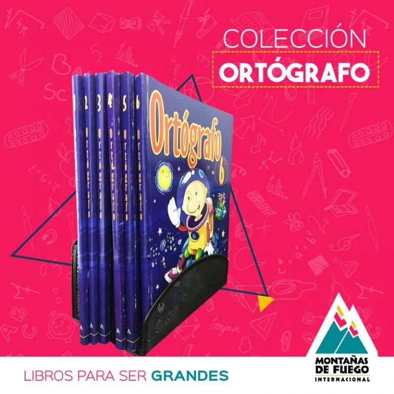 Colección Ortógrafo Montañas de Fuego